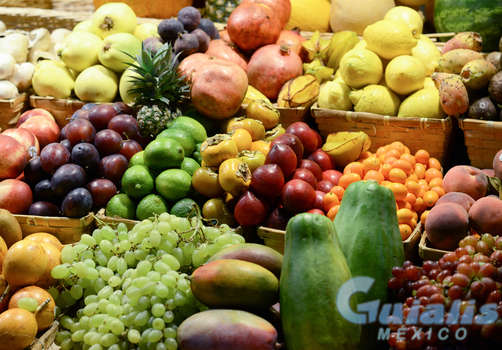 Frutas en Ocotlán de Morelos