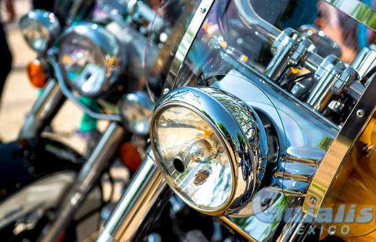 Motocicletas en Tenancingo, México