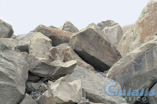 Piedras en Atlixco