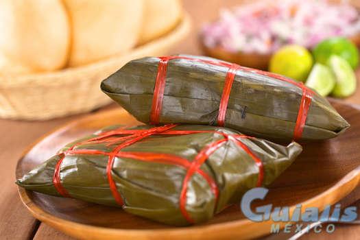 Tamales en Amatlán de los Reyes