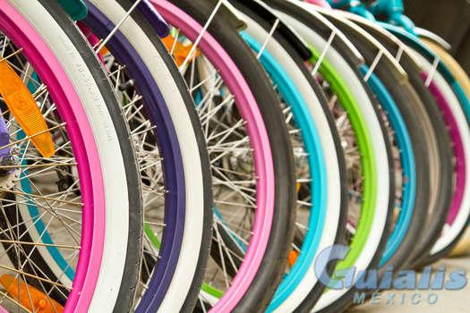 Bicicletas en Río Bravo