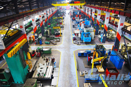 Equipo Industrial en Río Bravo