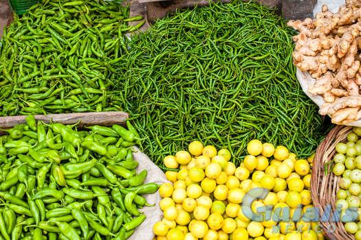 Verduras en Mexico
